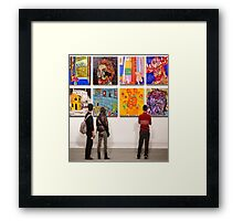 Eight Homages to Vincent Framed Print