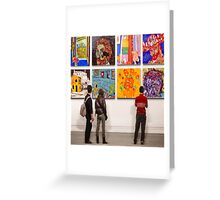 Eight Homages to Vincent Greeting Card