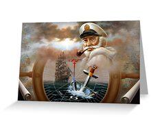 Sea Captain 2 Greeting Card
