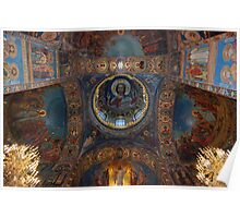 Internal, The Cathedral of Our Saviour on Spilled Blood, St Petersburg Poster