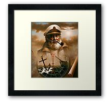 Sea Captain 5 Framed Print