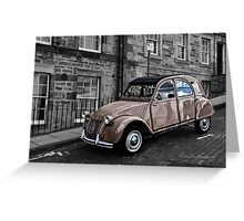 The Citroen Greeting Card