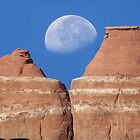 Moon Over Utah by SHickman