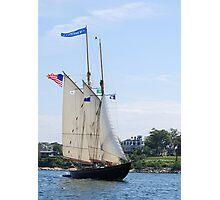 Schooner Virginia in Inner Gloucester Harbor Photographic Print