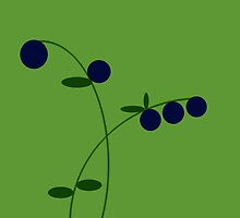 Blueberries by Bluesrose