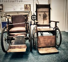 Old Wheelchairs by AbbottPhotoArts