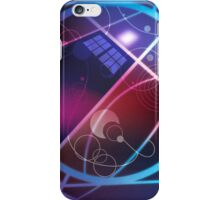 Swirly Swoopy TARDIS iPhone Case/Skin