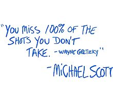 Michael Scott's Quote by Abby Mitchell