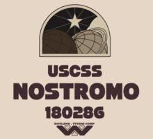 USCSS Nostromo (Alien) by Colin Wilson