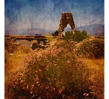 Knapps Castle in Textures Photographic Print