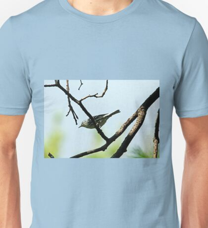 Black and White Warbler Unisex T-Shirt