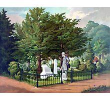 Robert E. Lee Visits Stonewall Jackson's Grave Photographic Print
