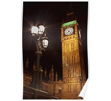 Palace of Westminster Clock Tower - Big Ben Poster