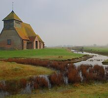 St Thomas Becket, Fairfield - From The West by Dave Godden