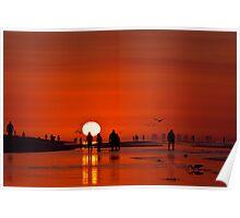 Sanibel Sunrise Poster