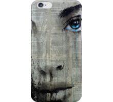 suddenly blue iPhone Case/Skin