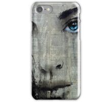 suddenly blue iPhone Case/Skin