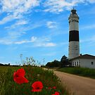 lighthouse of kampen by hannes cmarits