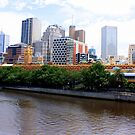 ~ Melbourne Vista ~ by Lynda Heins