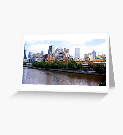 ~ Melbourne Vista ~ Greeting Card