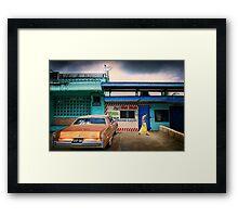 Namaka Street Scene Framed Print