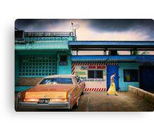 Namaka Street Scene Canvas Print