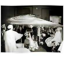 Egyptian White Wedding Poster