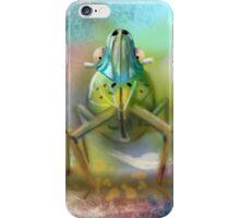Palm Planthopper  iPhone Case/Skin