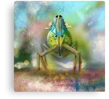 Palm Planthopper  Canvas Print