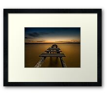 All out  Framed Print