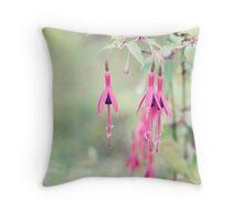 Wayside flowers; Traveler's dower. Throw Pillow