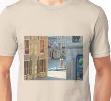 Rue Sous-le-Fort And Louis XIV Monument, Old Quebec City Unisex T-Shirt
