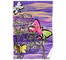 Butterfly Hats Poster