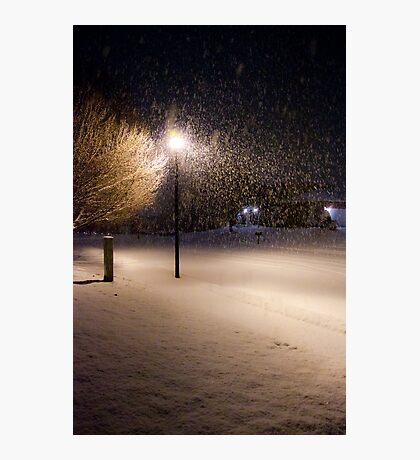 Peaceful Snowstorm Photographic Print
