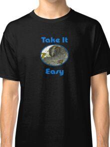 Sloth Greeting Card & Coffee Mug Classic T-Shirt