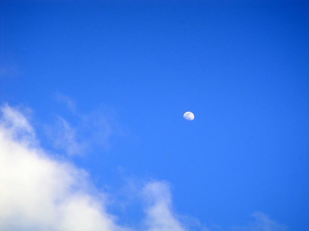 Daylight moon by islefox