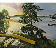Algonquin Park Sunrise, Ontario, Canada Photographic Print