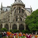 Blooms Below Buttresses by RightSideDown