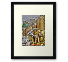 King's Chapel, Boston MA Framed Print