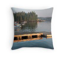 Safe Harbor--Yankee Pride Throw Pillow
