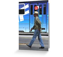 Keep on Walking Greeting Card