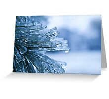 The Deep Freeze- Beautiful Destruction Greeting Card
