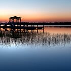 Dock at Dawn by Joe Jennelle
