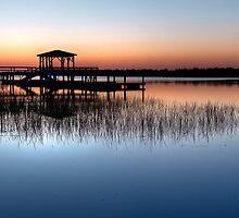 Dock at Dawn by Joe Jennelle