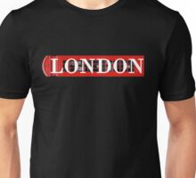 London Phone Booth Graphic Unisex T-Shirt