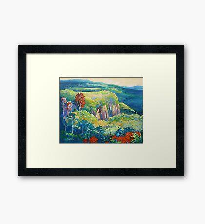 Escarpment Tamborine Framed Print
