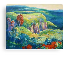 Escarpment Tamborine Canvas Print