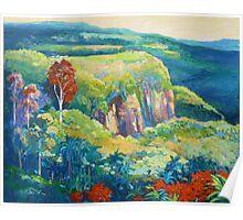 Escarpment Tamborine Poster