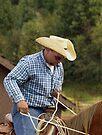 Cowboy At Work by WesternArt