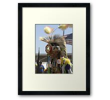 Young Man #2 Native American Culture Lives On Framed Print